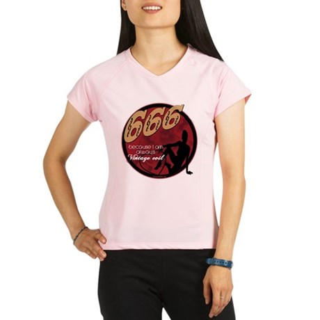 666 Devilish Sign Female Performance Dry T-Shirt