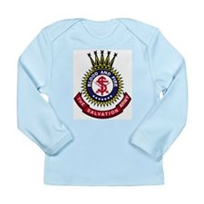 Salvation Army Crest Long Sleeve Infant T-Shirt