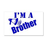I'm A Brother Car Magnet 20 x 12