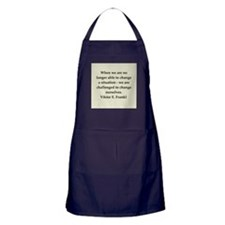 Viktor Frankl quote Apron (dark)