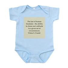 Wilhelm Reich quotes Infant Bodysuit