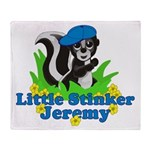 Little Stinker Jeremy Throw Blanket