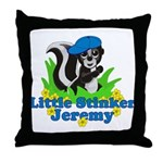 Little Stinker Jeremy Throw Pillow