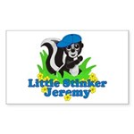 Little Stinker Jeremy Sticker (Rectangle 10 pk)
