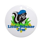 Little Stinker Jim Ornament (Round)