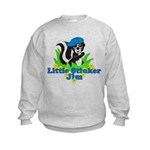 Little Stinker Jim Kids Sweatshirt