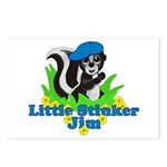 Little Stinker Jim Postcards (Package of 8)