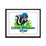Little Stinker Jim Framed Panel Print