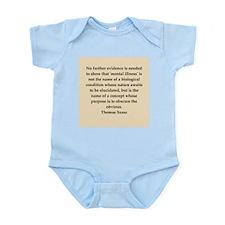 Thomas Szasz quote Infant Bodysuit