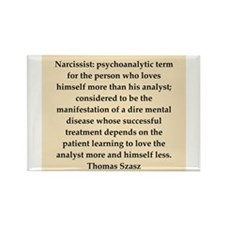 Thomas Szasz quote Rectangle Magnet (10 pack)