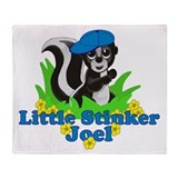 Little Stinker Joel Throw Blanket