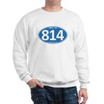Blue Erie, PA 814 Sweatshirt