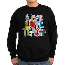 Live Love Teach Sweater