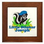 Little Stinker Joseph Framed Tile