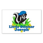 Little Stinker Joseph Sticker (Rectangle 10 pk)