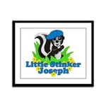 Little Stinker Joseph Framed Panel Print