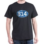 Blue Erie, PA 814 Dark T-Shirt