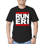 RUN ERI Men's Fitted T-Shirt (dark)