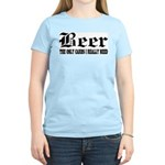 Beer Women's Pink T-Shirt