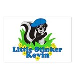 Little Stinker Kevin Postcards (Package of 8)