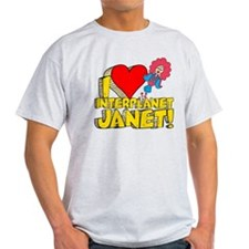I Heart Interplanet Janet! T-Shirt
