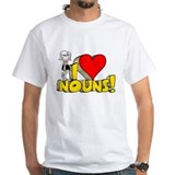 I Heart Nouns - Schoolhouse Rock! Shirt