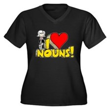 I Heart Nouns - Schoolhouse Rock! Women's Plus Siz