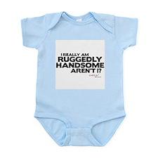 Ruggedly Handsome Infant Bodysuit