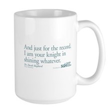 For the Record... - Grey's Anatomy Large Mug