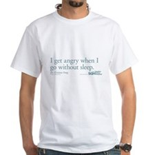 I get angry... - Grey's Anatomy Quote White T-Shir