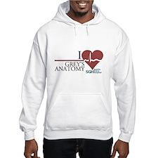 I Heart Grey's Anatomy Hooded Sweatshirt