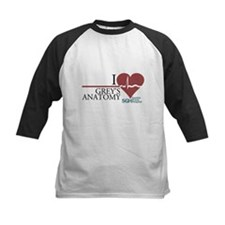 I Heart Grey's Anatomy Kids Baseball Jersey
