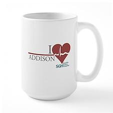 I Heart Addison - Grey's Anatomy Large Mug