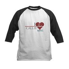 I Heart Callie - Grey's Anatomy Kids Baseball Jers