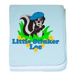 Little Stinker Lee baby blanket