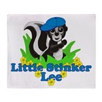 Little Stinker Lee Throw Blanket