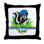 Little Stinker Lee Throw Pillow