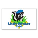 Little Stinker Lee Sticker (Rectangle 10 pk)