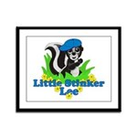 Little Stinker Lee Framed Panel Print