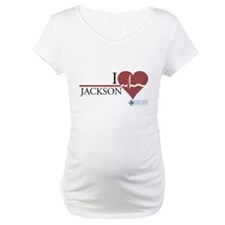 I Heart Jackson - Grey's Anatomy Maternity T-Shirt