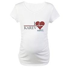 I Heart Karev - Grey's Anatomy Maternity T-Shirt