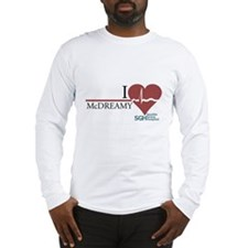 I Heart McDREAMY - Grey's Anatomy Long Sleeve T-Sh