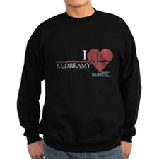 I Heart McDREAMY - Grey's Ana Dark Sweatshirt