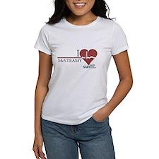 I Heart McSTEAMY - Grey's Anatomy Women's T-Shirt