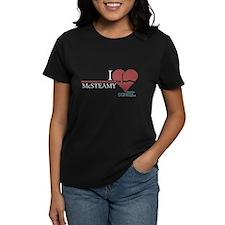 I Heart McSTEAMY - Grey's Anatomy Women's Dark T-S