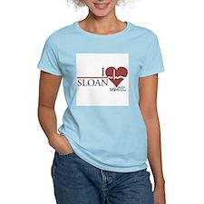 I Heart Sloan - Grey's Anatomy Women's Light T-Shi