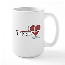 I Heart Torres - Grey's Anatomy Large Mug