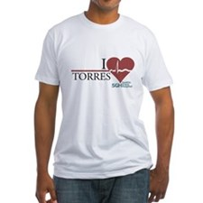 I Heart Torres - Grey's Anatomy Fitted T-Shirt