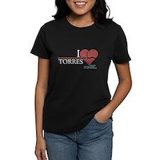 I Heart Torres - Grey's Anatomy Women's Dark T-Shi