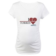 I Heart Torres - Grey's Anatomy Maternity T-Shirt